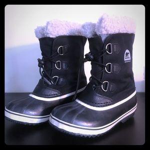 Sorel Winter Boots - Black; Size 5